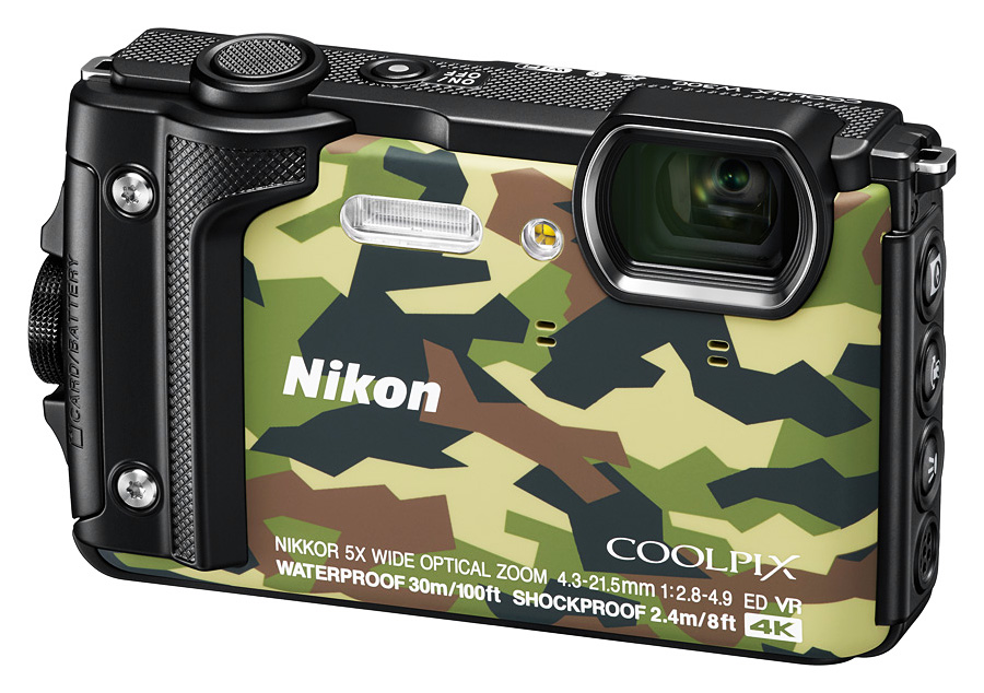 Nikon Coolpix W300, Kamufláž