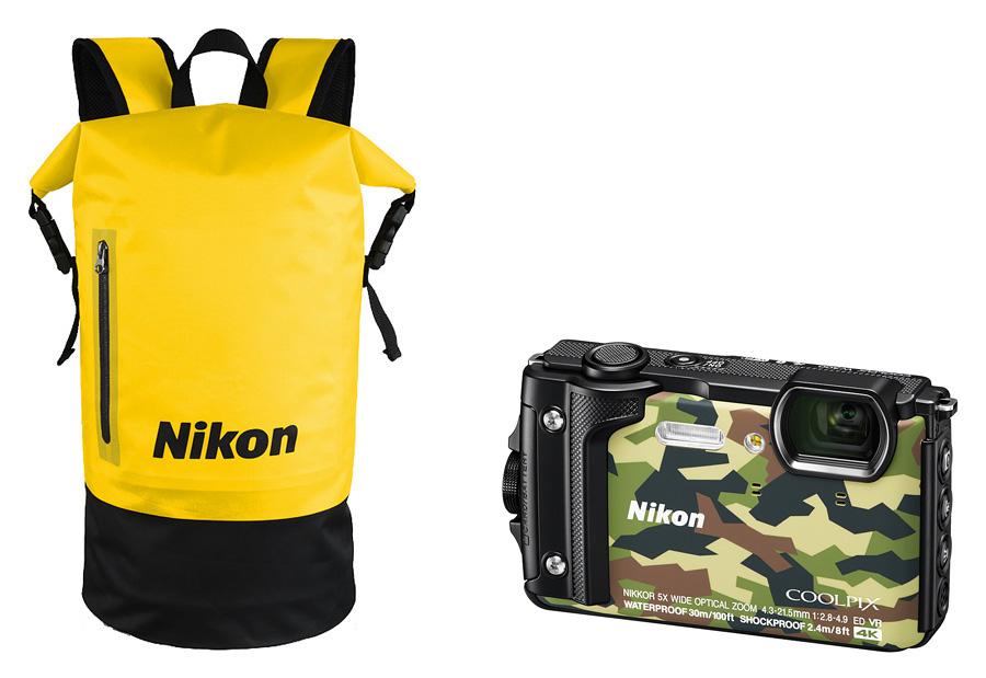 Nikon Coolpix W300 Holiday Kit, Kamufláž