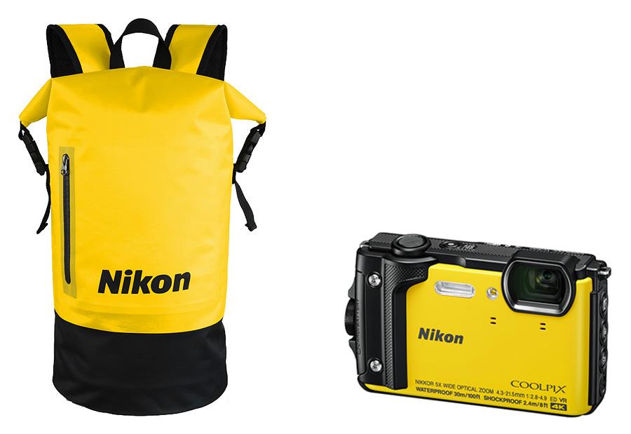 Nikon Coolpix W300 Holiday Kit, Žltý