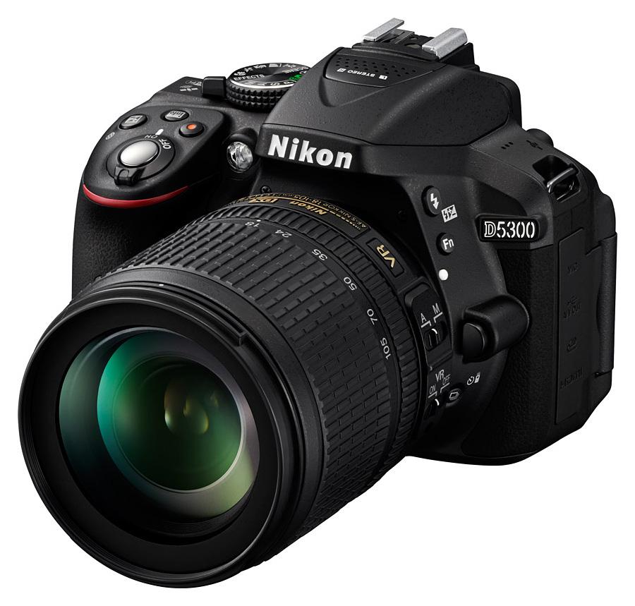 Nikon D5300 + AF-S DX Nikkor 18-105mm f/3.5-5.6G ED VR, Čierny kit