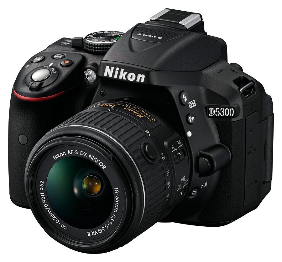 Nikon D5300 + AF-S DX Nikkor 18-55mm+55-200 VRII