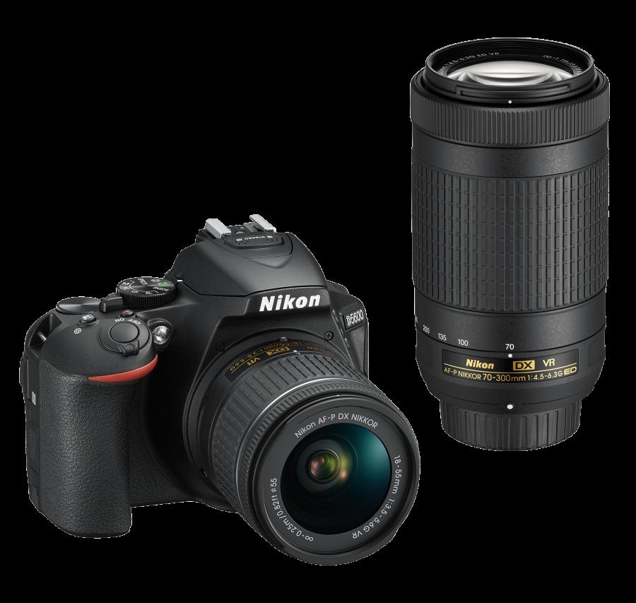 Nikon D5600 + AF-P DX 18-55mm G VR + AF-P DX 70-300mm G VR