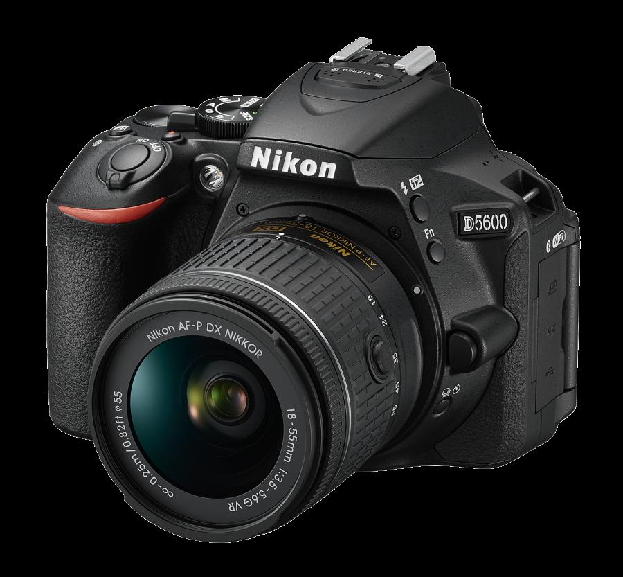 Nikon D5600 +AF-P DX Nikkor 18-55mm f/3.5-5.6G VR