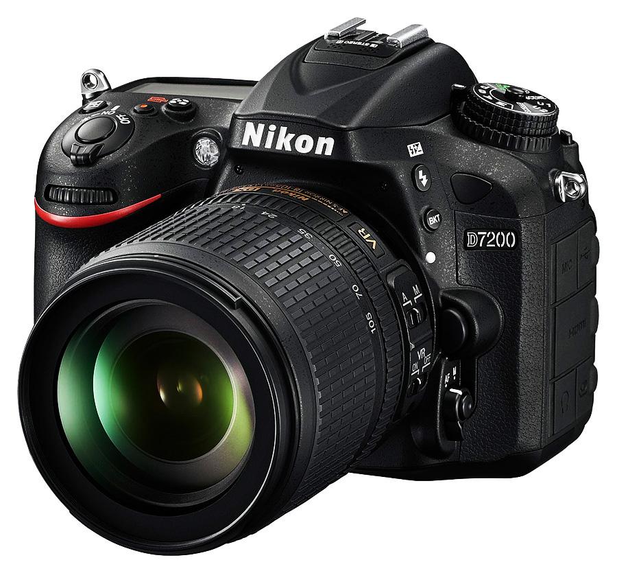 Nikon D7200 + AF-S DX Nikkor 18-105mm f/3.5-5.6G ED VR +Čistenie a fotokurz