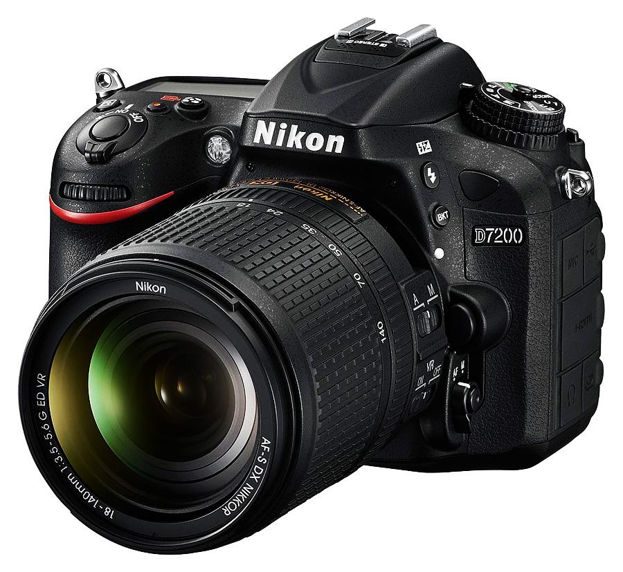 Nikon D7200 + AF-S DX Nikkor 18-140mm f/3.5-5.6G ED VR +Čistenie a fotokurz