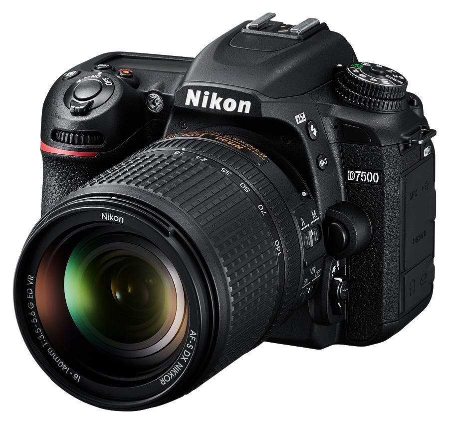 Nikon D7500 + AF-S DX Nikkor 18-140mm f/3.5-5.6G ED VR + Čistenie a fotokurz