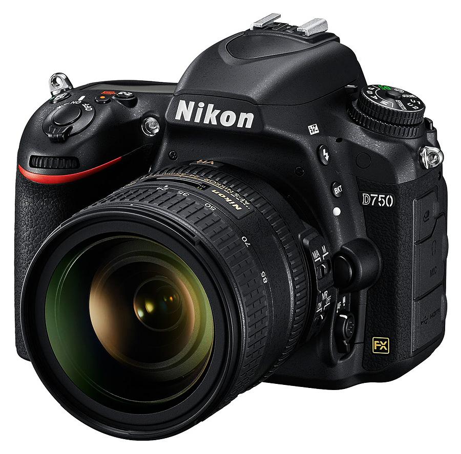 Nikon D750 + AF-S Nikkor 24-85mm f/3.5-5.6G ED VR + 4x Čistenie a fotokurz!