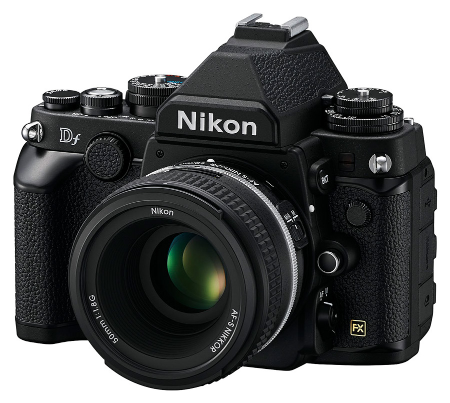 Nikon Df + AF-S Nikkor 50mm f/1.8G SE, Čierny kit