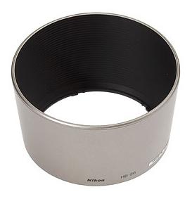 Nikon HB-26 Slnečná clona, Strieborná
