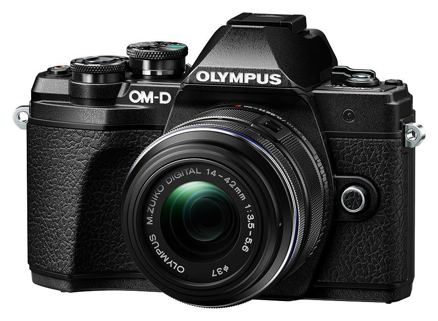 Olympus E-M10 Mk.III + M.ZD 14-42mm f/3.5-5.6 II R, Čierny kit