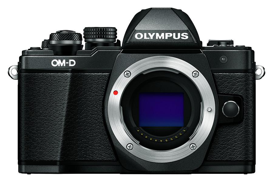Olympus E-M10 Mk.II - Telo, Čierne