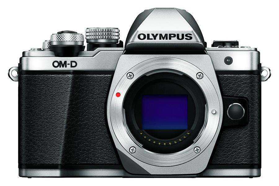 Olympus E-M10 Mk.II - Telo, Strieborné