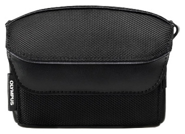 Olympus Stylus Soft Case - Mäkké nylonové puzdro pre Olympus Stylus 1, Čierne