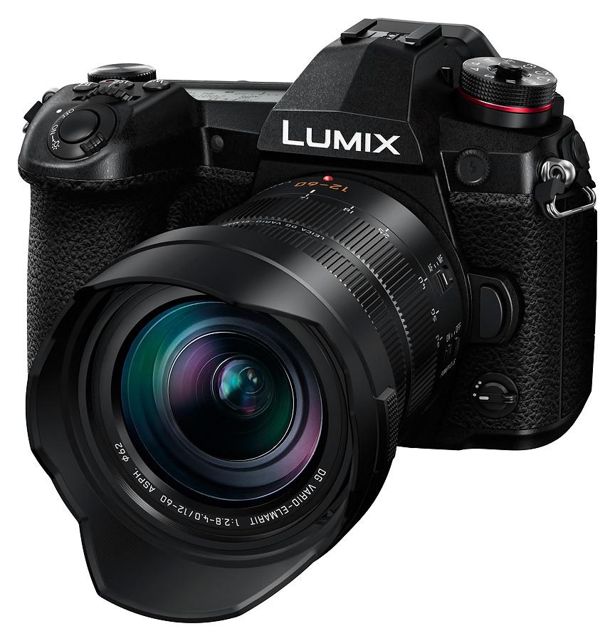 Panasonic Lumix G9 +Leica DG Vario-El.12-60 /2.8-4 OIS + batériový grip DMW-BGG9E zadarmo.