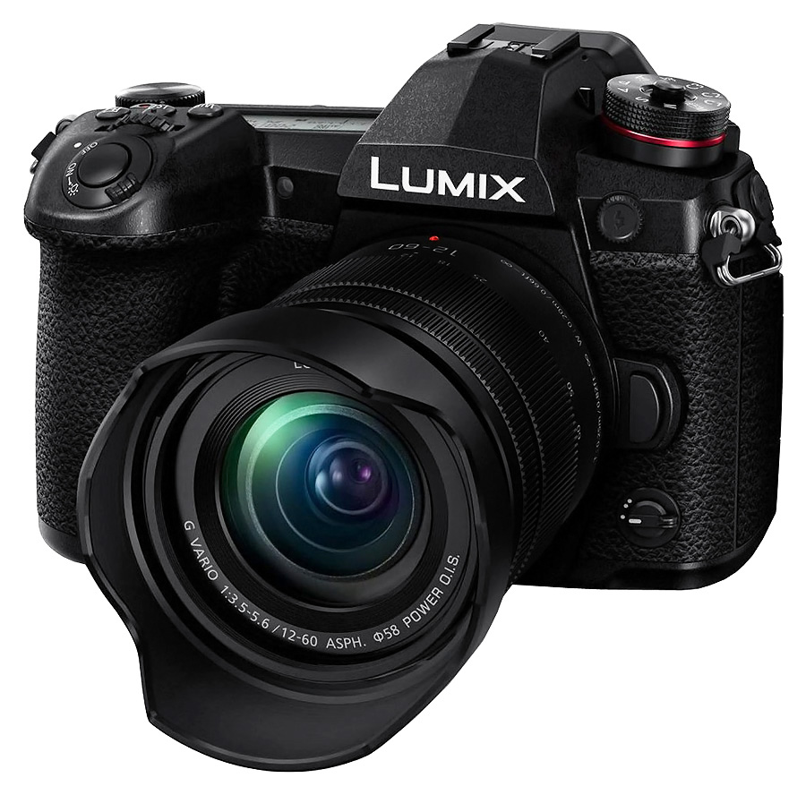 Panasonic Lumix G9 + Lumix G Vario 12-60/3.5-5.6 OIS + batériový grip DMW-BGG9E zadarmo.