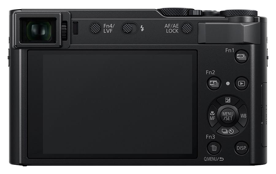 Panasonic Lumix DMC-TZ200, Čierny+puzdro PHS70KK zdarma