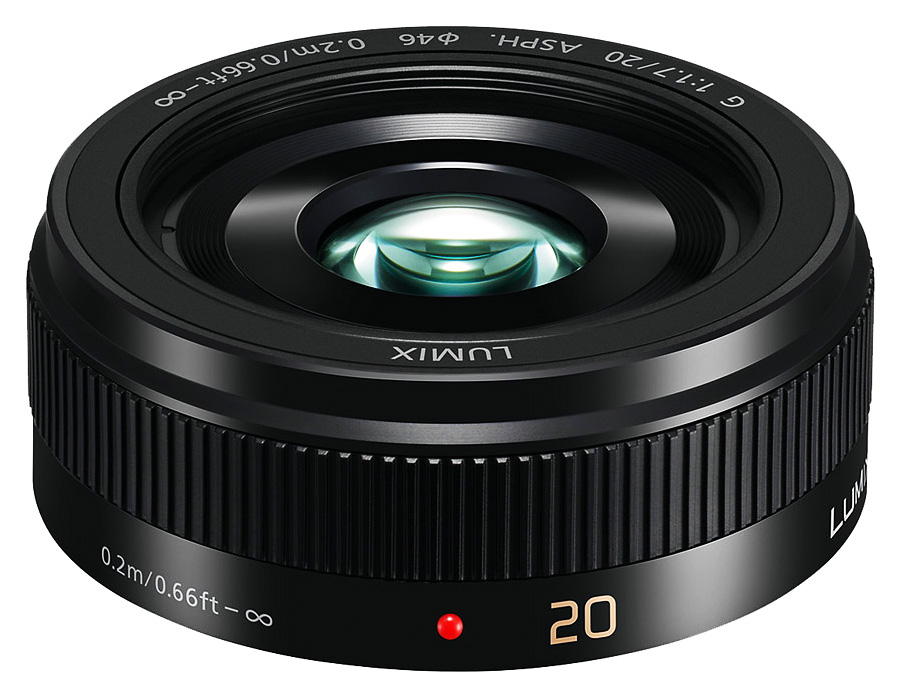 Panasonic Lumix G 20mm f/1.7 II ASPH. Čierny