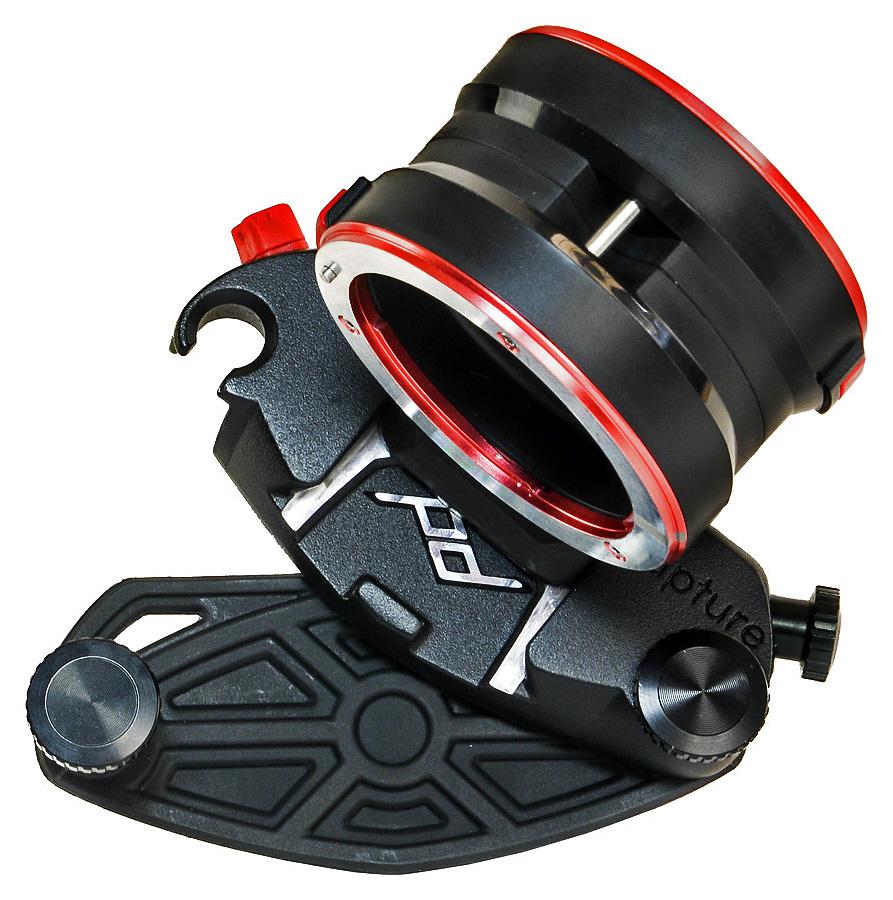 Peak Design CAPTURE LENS - Spona s držiakom objektívov s bajonetom Sony E/FE, Čierna