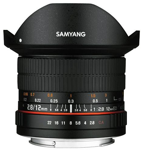Samyang 12mm f/2.8 ED AS NCS Fisheye, baj. Canon EF