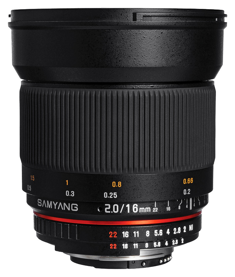Samyang 16mm f/2.0 ED AS UMC CS baj. (AE) Nikon DX