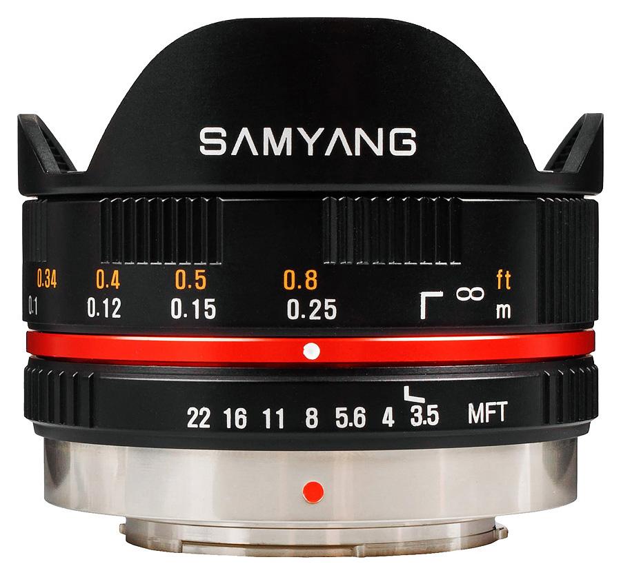 Samyang 7,5mm f/3.5 UMC Fisheye, baj. Micro 4/3 Olympus/Panasonic, Čierny