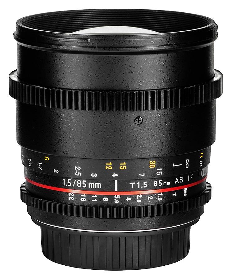 Samyang 85mm T1.5 AS IF UMC II VDSLR, baj. Nikon FX