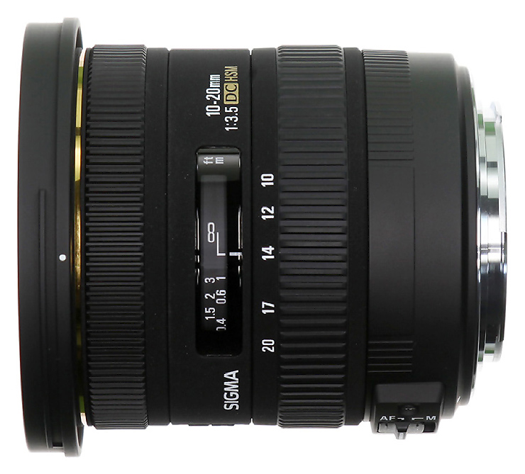 Sigma 10-20mm f/3.5 EX DC HSM, baj. Nikon