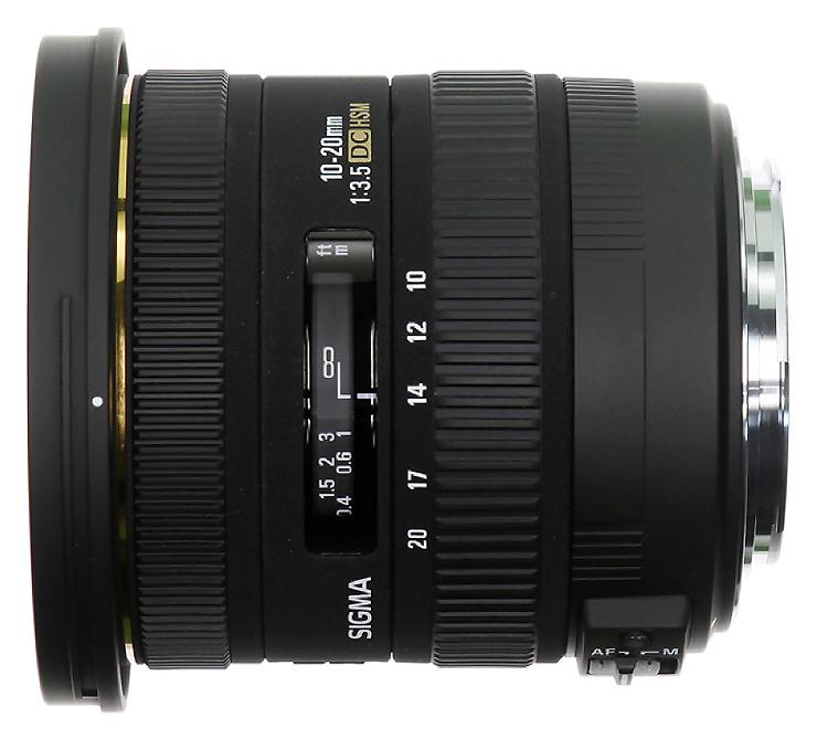 Sigma 10-20mm f/3.5 EX DC HSM, baj. Canon