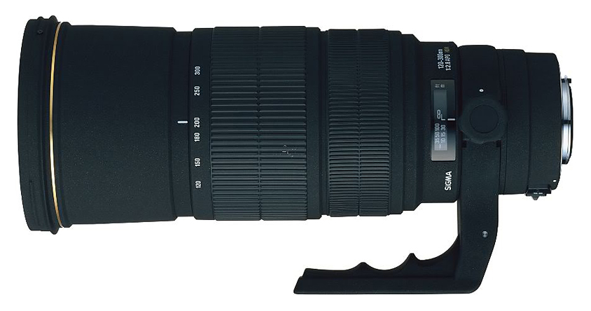 Sigma 120-300mm f/2.8 EX DG AF APO HSM, baj. Canon