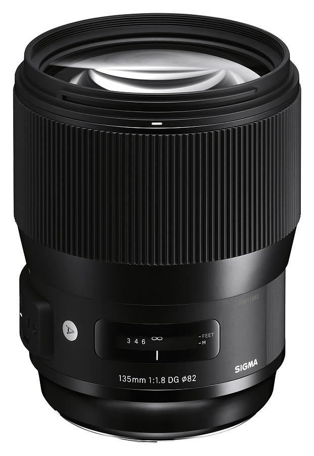 Sigma 135mm f/1.8 DG HSM Art, baj. Nikon