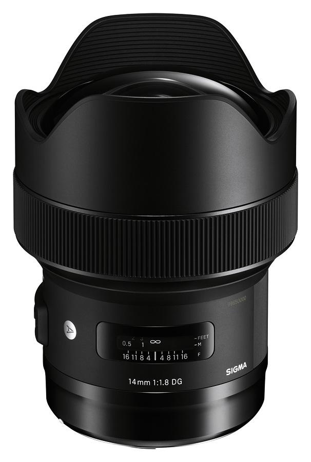 Sigma 14mm f/1.8 DG HSM Art, baj. Canon
