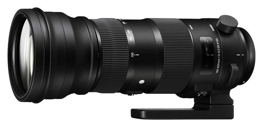 Sigma 150-600mm f/5-6.3 DG OS HSM Sport, baj. Nikon