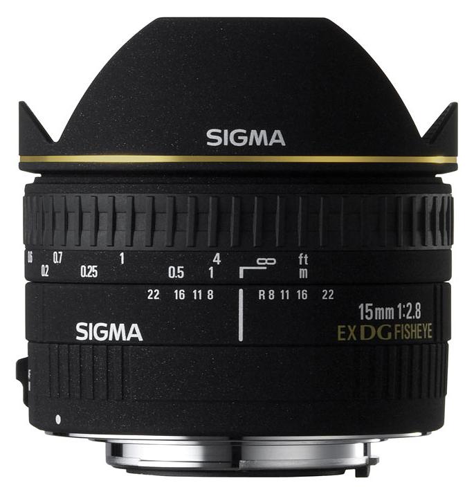 Sigma 15mm f/2.8 EX DG Fisheye, baj. Canon