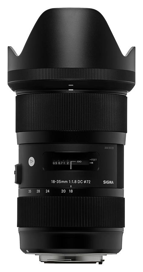 Sigma 18-35mm f/1.8 DC HSM Art, baj. Canon