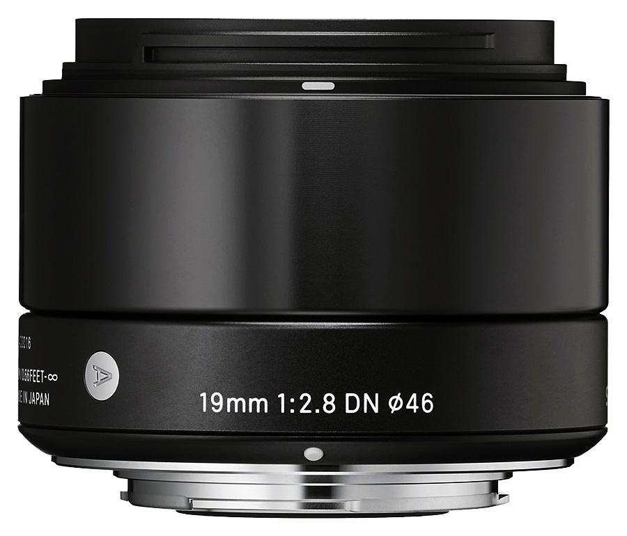 Sigma 19mm f/2.8 DN Art, baj. Olympus Micro 4/3, Čierny