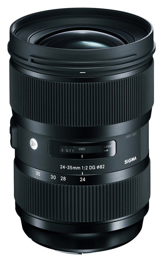 Sigma 24-35mm f/2.0 DG HSM Art, baj. Canon EF
