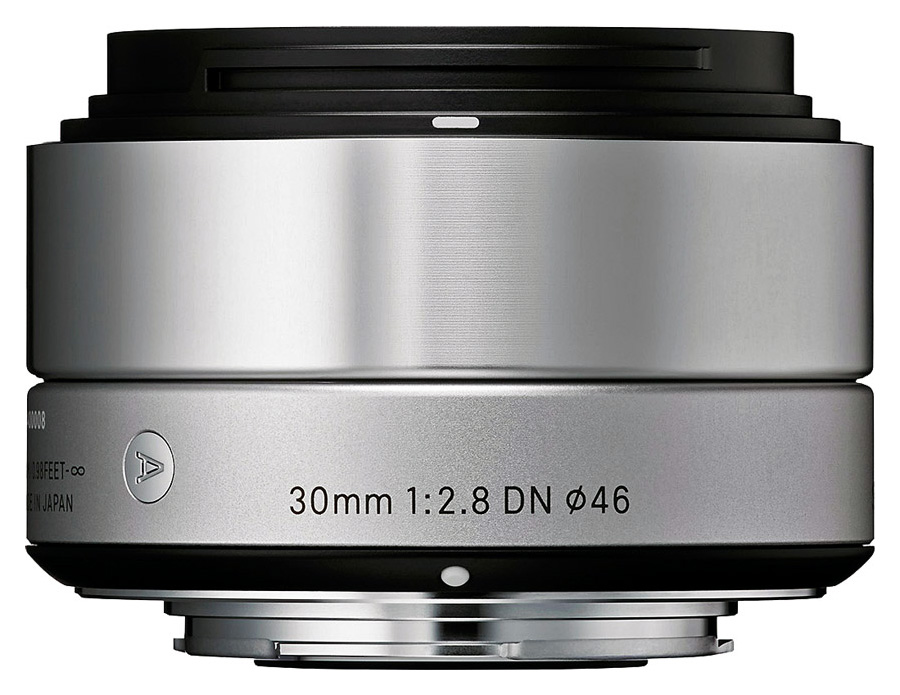 Sigma 30mm f/2.8 DN Art, baj. Olympus Micro 4/3, Strieborný