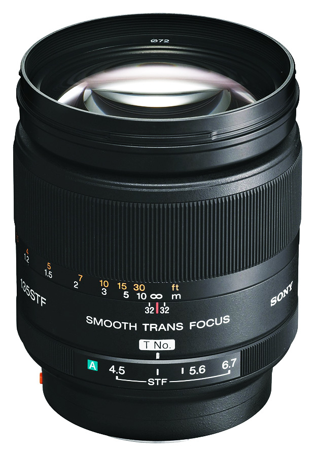 Sony A 135mm f/2.8 [T4.5] STF (Full Frame, A-Mount)