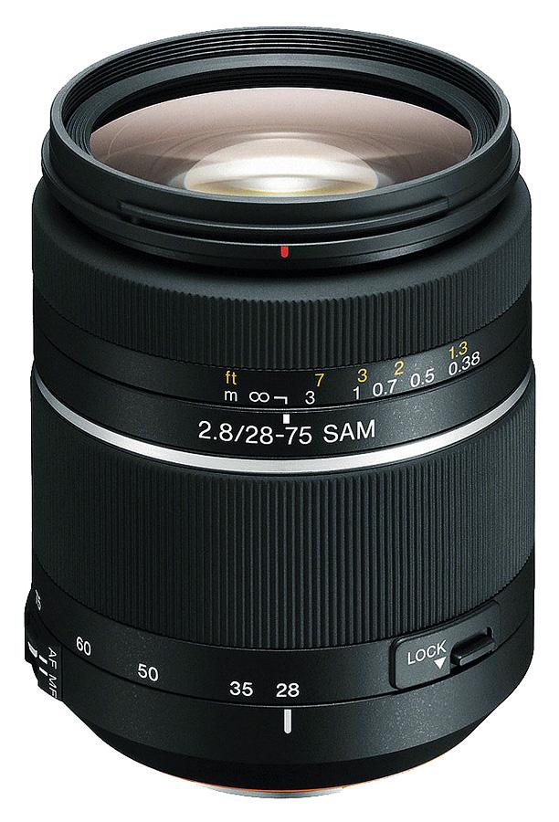 Sony A 28-75mm f/2.8 SAM (Full Frame, A-Mount)