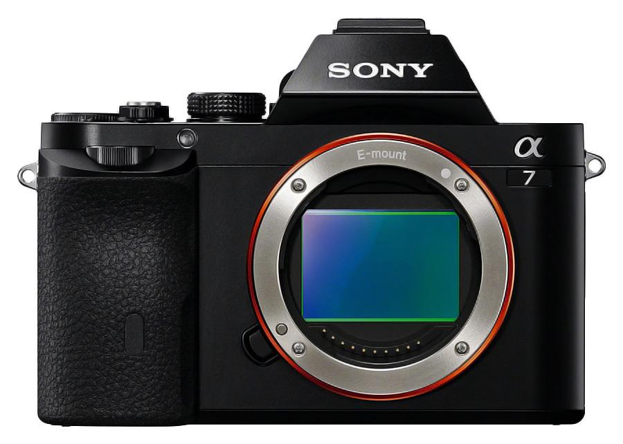 Sony Alpha A7 - Telo