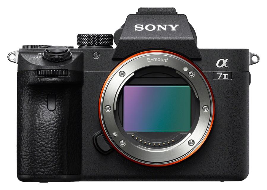 Sony Alpha A7 Mk.III, Telo + SD karta Lexar 32GB Class 10 zdarma CASHBACK 150€