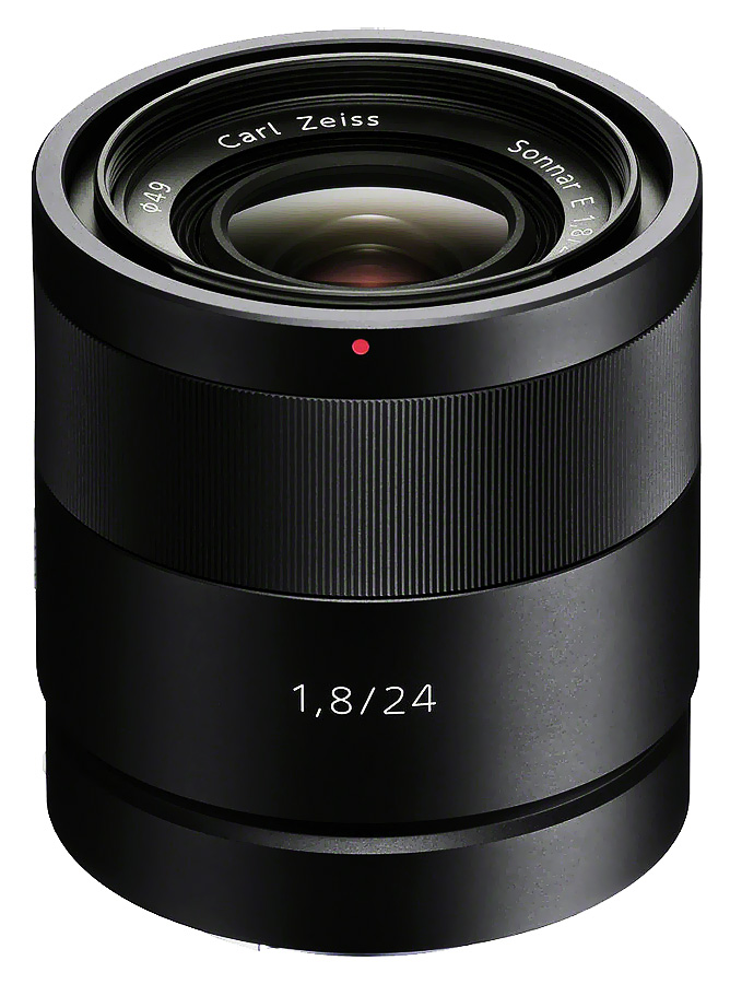 Sony E Sonnar T* 24mm f/1.8 ZA (ZEISS, APS-C, E-Mount)