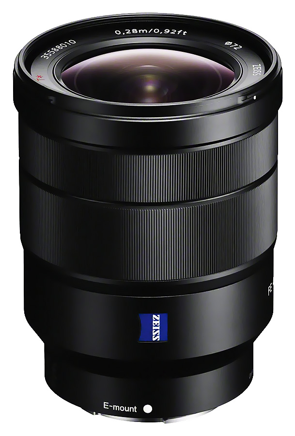Sony FE Vario-Tessar T* 16-35mm f/4 ZA OSS (ZEISS, Full Frame, E-Mount) - Cashback 200 €