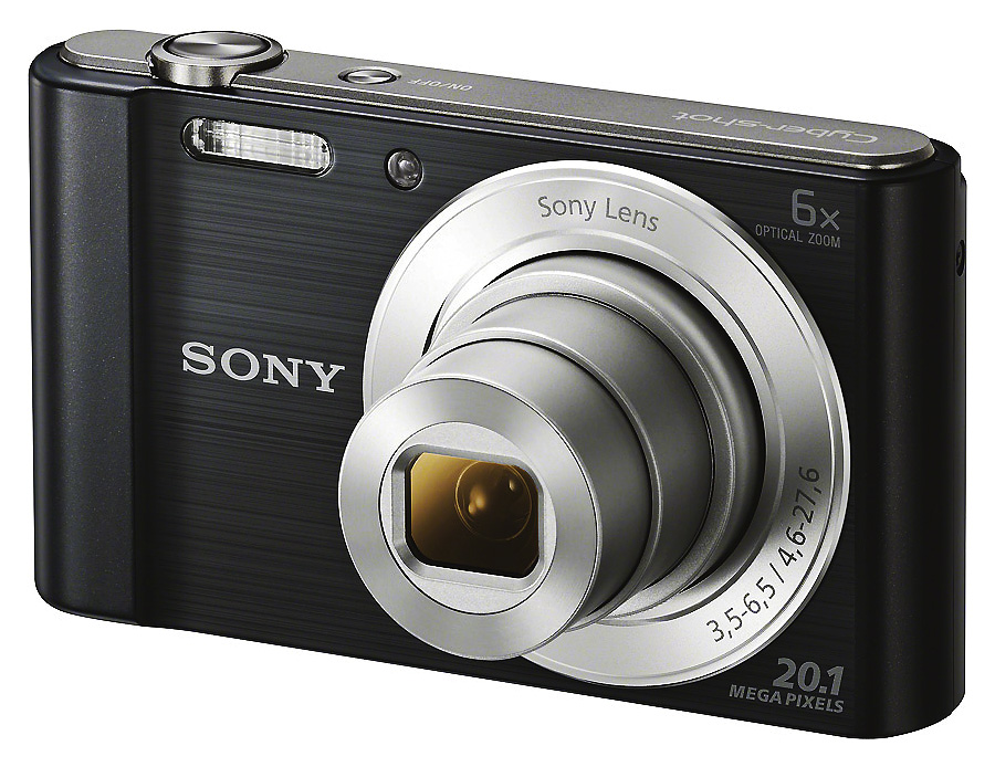 Sony Cyber-Shot DSC-W810, Čierny