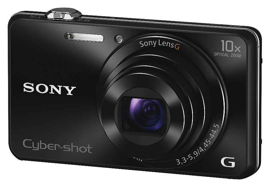 Sony Cyber-Shot DSC-WX220, Čierny