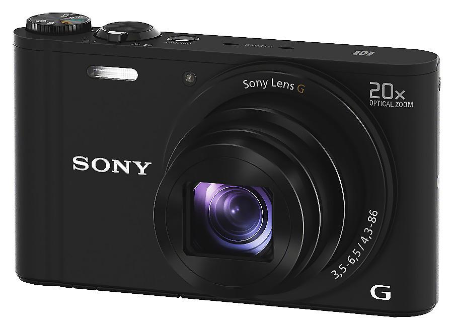 Sony Cyber-Shot DSC-WX350, Čierny