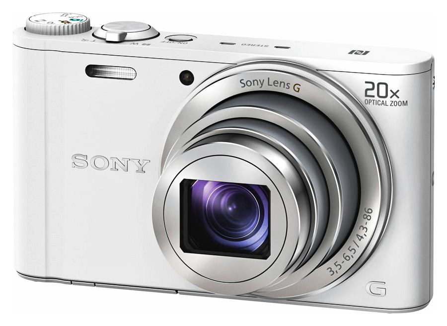 Sony Cyber-Shot DSC-WX350, Biely