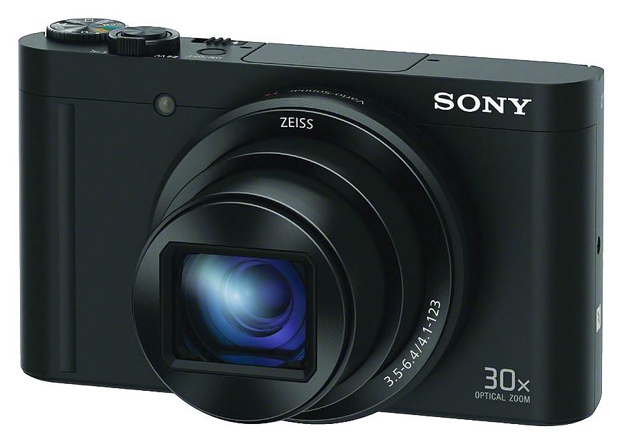 Sony Cyber-Shot DSC-WX500, Čierny