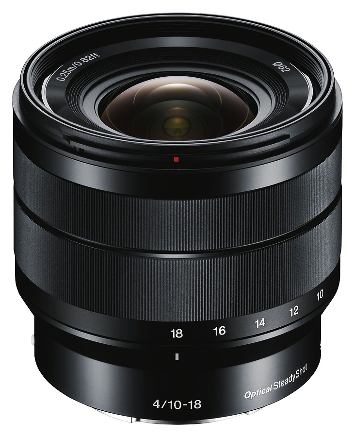 Sony E 10-18mm f/4 OSS (APS-C, E-Mount) CASHBACK 50€