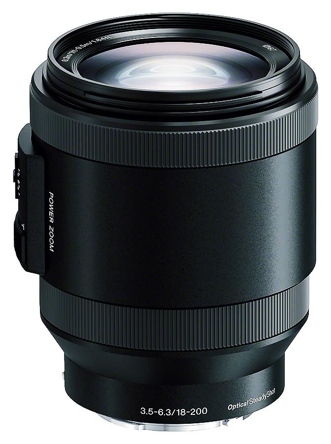 Sony E PZ 18-200mm f/3.5-6.3 OSS LE (APS-C, E-Mount), Čierny